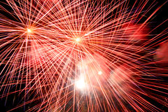 Free Red Fireworks Royalty Free Stock Photo - 13806755