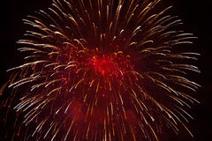 Free Red Fireworks Stock Photos - 44781463