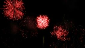 Free Red Fireworks Display Royalty Free Stock Image - 190816806
