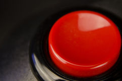 Red firing button Stock Photo