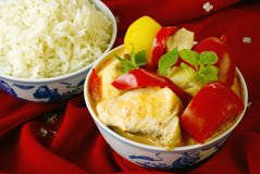 Red fish curry Royalty Free Stock Image