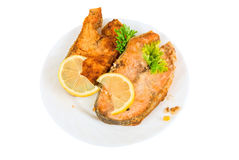 Red fish dish Stock Photography