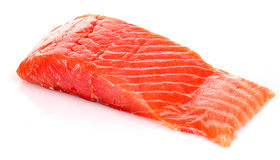 Red fish  isolated Royalty Free Stock Images