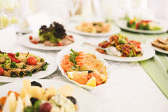 Red Fish Plate Royalty Free Stock Photography