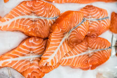 Red fish salmon trout Royalty Free Stock Photography