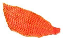 Red fish skin Stock Photo