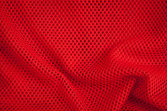 Red Fishnet texture and background Stock Photos