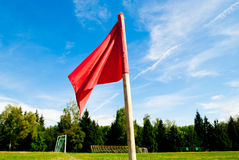 Red flag Royalty Free Stock Image