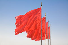 Red flag royalty free stock images