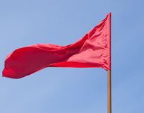 The red flag Stock Photos