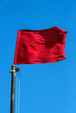Red flag Stock Photography