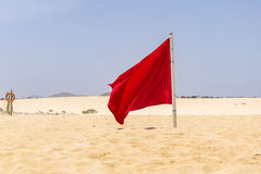 Red Flag Royalty Free Stock Photos