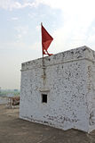 Red Flag on Narasingha Temple Stock Photos