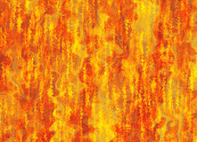 Red flame fire with smoke texture background Stock Photo