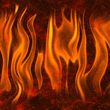 Red flame fire texture background. S Stock Image