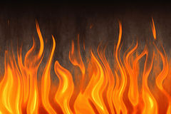 Red flame of fire. Texture backgrounds Royalty Free Stock Images