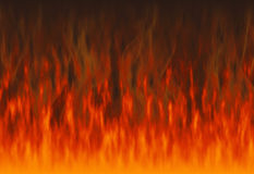 Red flame fire texture backgrounds Royalty Free Stock Photography