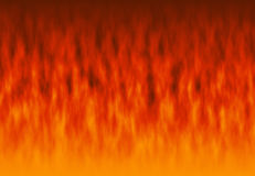 Red flame fire texture backgrounds Stock Photography