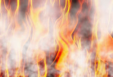 Red flame fire texture backgrounds Stock Image