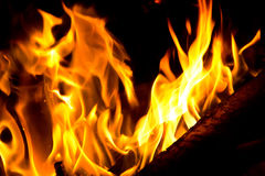 Red flame Stock Photos