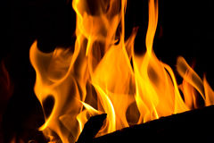 Red flame Royalty Free Stock Image