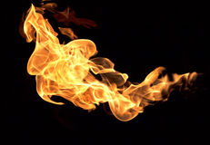 The red flames Royalty Free Stock Photography