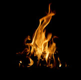 The red flames Stock Photos