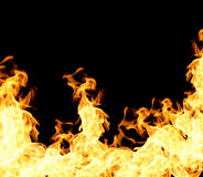 The red flames Royalty Free Stock Photo