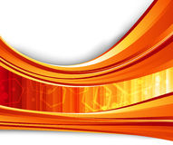 Red flare energy. Clip-art Royalty Free Stock Images