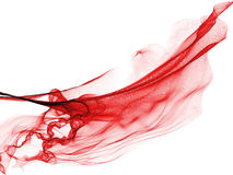Red flash abstract fire line Royalty Free Stock Image
