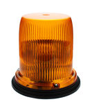 Red flashing beacon. Stock Image