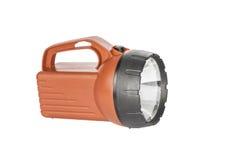 Red Flashlight Stock Image