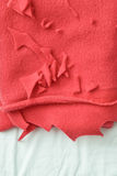 Red fleece Royalty Free Stock Images