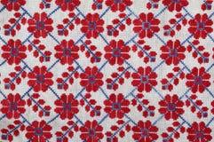 Red floral bordada Foto de archivo libre de regalías