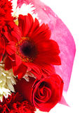 Red floral bouquet Stock Photography