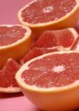 Red florida grapefruit Stock Image