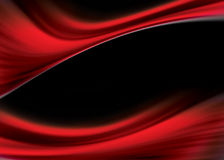Red flow. Red abstract design with flowing texture stock illustration
