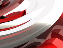 Red flow Royalty Free Stock Photo
