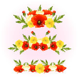 Red flower arrangement Royalty Free Stock Photo