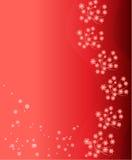 Red flower background. Vector illustration stock illustration