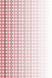 Red flower pattern. Red pattern made of two flowers on white background with transparency Royalty Free Stock Photography