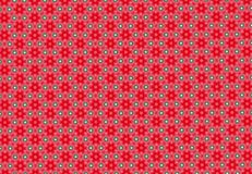 Red flower pattern wallpaper. Abstract red flower background Royalty Free Stock Image