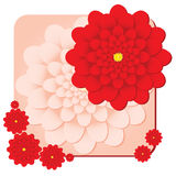 Red Flower shop Royalty Free Stock Image