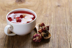Red flower tea Stock Photos