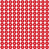 Red flowers pattern. For web and graphic projects Royalty Free Stock Photos
