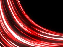 Red Flowing Abstract Background Royalty Free Stock Images