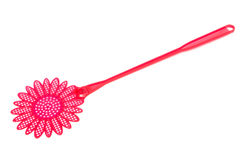 Red fly swatter Royalty Free Stock Image
