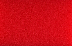 Red foam rubber texture Royalty Free Stock Photo