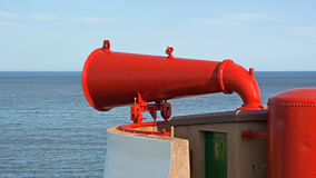 Red Foghorn Stock Images