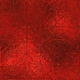 Red Foil Seamless Background Texture Stock Images